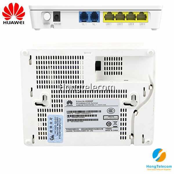 Huawei GPON ONT HG8240F ONU