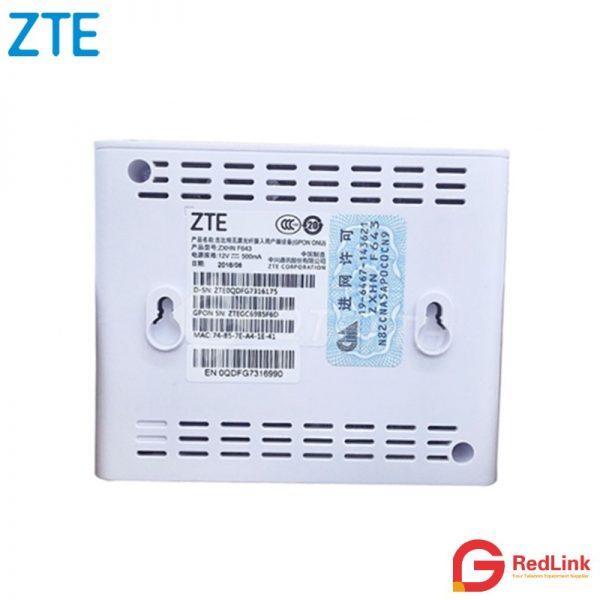 ZTE GPON ONT F643 | Hongtelecom