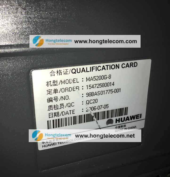 Huawei MA5200G-8 pic