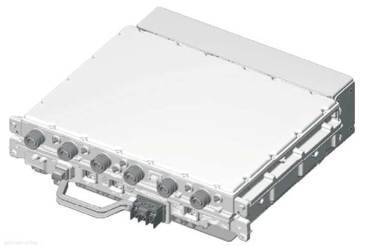 Isometric view of 90 W RF Module